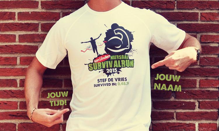 Niersdal Survival Run - prestatie shirt