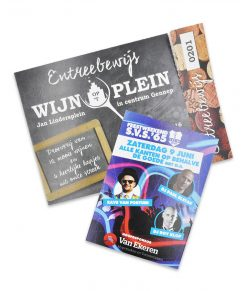 Entreekaarten / Tickets