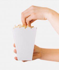 Popcorn bakjes 55x55x105mm