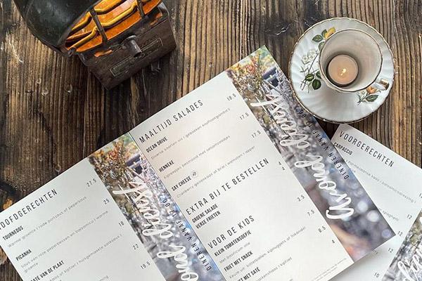 Waterbestendige menukaarten drukken