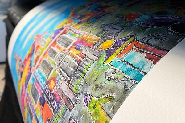 Fine art posters printen
