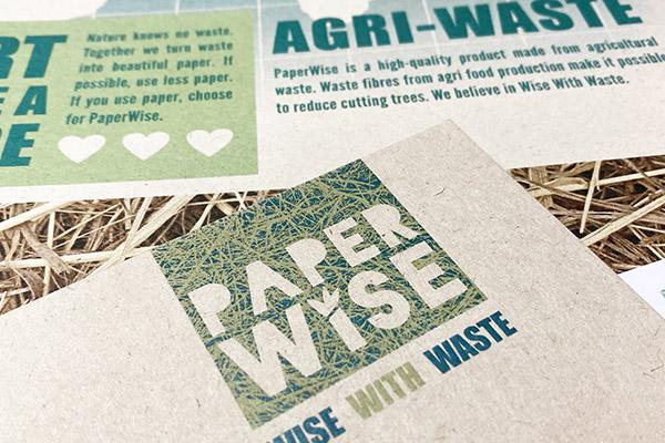 PaperWise - papier gemaakt van landbouwafval